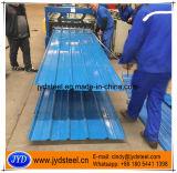 Colorare il tetto ondulato trapezio della lamiera di acciaio