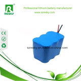 7500 paquete 2s3p de la batería recargable de 7800mAh 3.7V para el monitor médico