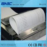 (BK-L216) USB A4 de série com impressora do USB da impressora térmica do quiosque do cortador do carregamento de papel do apresentador a auto auto