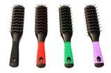 Cepillo de pelo plástico del peine del pelo con el apretón suave