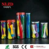 Vendite di nylon delle misure reali delle fascette ferma-cavo di alta qualità dalla fabbrica della Cina