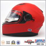 Heißer Verkauf PUNKT Doppelt-Masken-volles Gesichts-Sturzhelm (FL123)