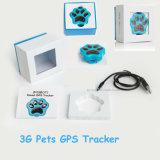 El pequeño perseguidor impermeable más popular del GPS para los gatos/los perros con el collar ajustable (V30)