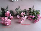 Best Selling Decoratieve Geranium Kunstbloemen