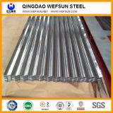 Strato ondulato galvanizzato del tetto dello zinco d'acciaio del ferro
