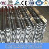 アルミニウム亜鉛上塗を施してある波形の鋼板