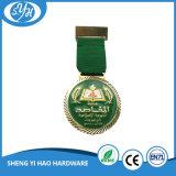 Lo smalto dell'oro di alta qualità mette in mostra la medaglia per il ricordo
