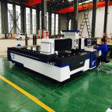 Machine de découpage inoxidable de laser de fibre d'acier du carbone