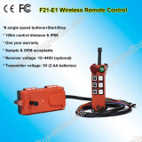 Bridge Crane를 위한 F21-E1 Industrial Wireless Radio Remote Control