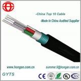 Cavo di fibra ottica di Armoring del nastro d'acciaio ondulato con il singolo fodero