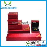 Aangepast papier Leather Houten sieraden doos van de Ring Watch Ketting Storage Box Case