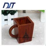 Envase de madera barato de encargo de la pluma de la venta caliente