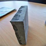 까만 현무암 돌 포장 기계