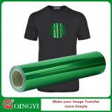 Qualité de Qingyi et prix grands en gros de vinyle métallique de transfert thermique pour le vêtement