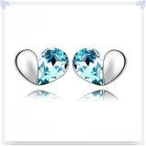Oorring 925 van de Manier van de Juwelen van het kristal Echte Zilveren Juwelen (SE013)