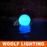 Lampadina chiara esterna della sfera del LED con illuminazione solare incorporata