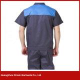 Uniforme fonctionnant de chemise courte faite sur commande pour l'été (W249)
