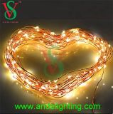 diodo emissor de luz String Light do diodo emissor de luz Flexible Copper Wire String Light Mini Invisible dos 10m 3V