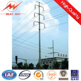 Mittleres Voltage 35m Hot DIP Galvanized Steel Utility Pole 1 - 30 mm Thickness