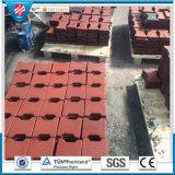 Pavimentadoras de goma de Dogbone de las calzadas al aire libre de los azulejos