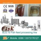 Linha de processamento de flutuação automática da alimentação dos peixes do aço inoxidável