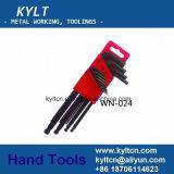Drehkraft-Schlüssel-besonders langer Kugel-Punkt Allen mit Matt Finishment