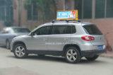 Het openlucht Hete Verkopende Draadloze (3G/WiFi) Tweezijdige LEIDENE van de Taxi Teken van Topper voor Verkoop
