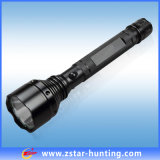 1200年のLmの500m Longest Range 10Wのクリー語Xml-T6 LED Flashlight Lumen Value