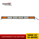 "Novo produto 10W CREE LED Bar Amber Color 33 ""180W LED Work Light Bar"