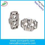 Parti di alluminio lavoranti di CNC di abitudine per il motore/tornio/motociclo, parti di macinazione di CNC