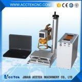 Машина маркировки лазера волокна цены по прейскуранту завода-изготовителя Handheld