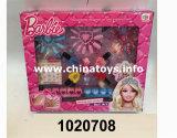 Brinquedo plástico de 2016 acessórios do salão de beleza do prego da menina de DIY (1020712)