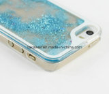 Boîtier pc dur de sable mouvant de couverture de mobile neuf/téléphone cellulaire pour la caisse liquide de téléphone du sable 5s de l'iPhone 5