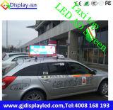 Pantalla publicitaria superior del taxi de Mexio LED
