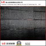 Negro caliente Corea exportada tubo de acero rectangular de la venta