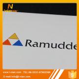 custom Vinyl Company 로고에 의하여 돋을새김되는 접착성 라벨 스티커
