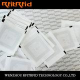 13.56MHz etiqueta clássica programável da etiqueta do PVC MIFARE NFC RFID