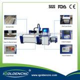 Автомат для резки для резать стальную плиту, металлопластинчатый, металлический лист лазера волокна