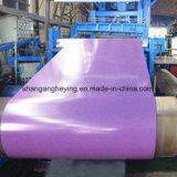Acier galvanisé revêtu de couleur chinoise de haute qualité pour la construction