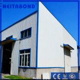 3mmの外面の建築材料で使用されるアルミニウム壁パネル