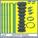 Maille superbe de chaîne de qualité clôturant des pièces pour l'installation