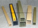 Pipe/tube carrés environnementaux de la fibre de verre FRP de Pultruded