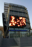 Afficheur LED électronique extérieur d'intense luminosité de P10fs Skymax