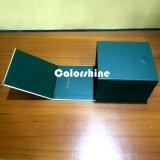 Коробка подарка упаковки бумаги свечки высокого качества зеленая