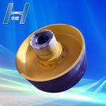 ブレーキ車輪(ZLL)が付いている標準ゴムPinのユニバーサルカップリング