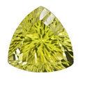 Gemstones naturais frouxos de quartzo do limão