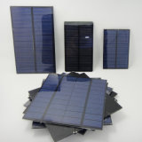 El panel solar del pequeño animal doméstico de la resina de epoxy usado en bolso solar y cargador móvil