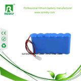 18650 Pak van de Batterij 2600mAh van cellen 11.1V het Li-Ionen voor de Camera van kabeltelevisie