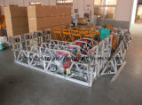 6.6kw Screed gys-200 van de Bundel van het Aluminium van Honda Gx270 Concrete Trillende