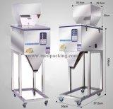 máquina de rellenar del té 100-2500g de la máquina de rellenar de los gránulos del arroz automático del germen